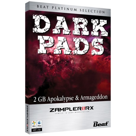 DARK PADS – 40 armageddon patches for Zampler//RX workstation (Win/OSX plugin included)