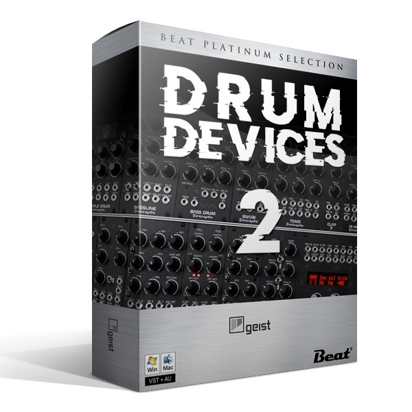 DRUM DEVICES II - 13 expansions for Geist Lite (plugin included)