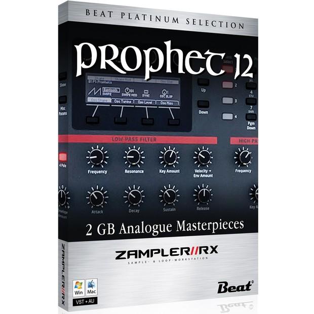 PROPHET-12 – Sound bank for Zampler//RX workstation (Win/OSX plugin included)