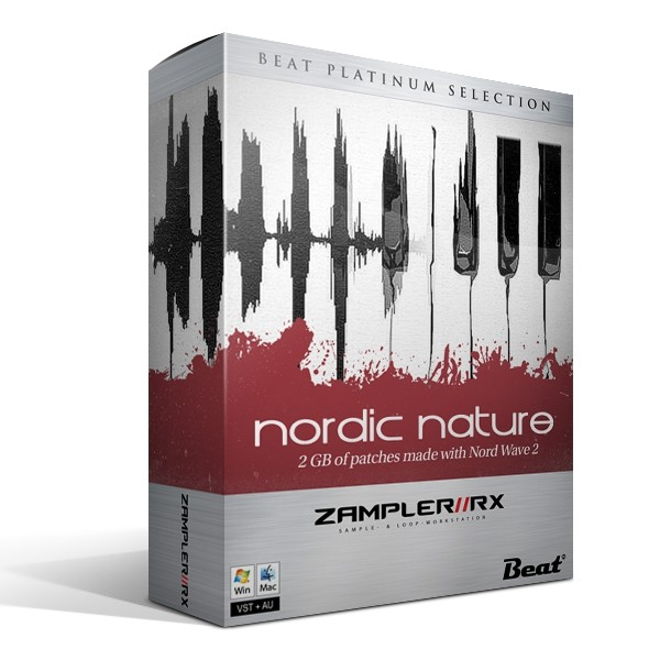 NORDIC NATURE - 71 patches made with Nord Wave 2