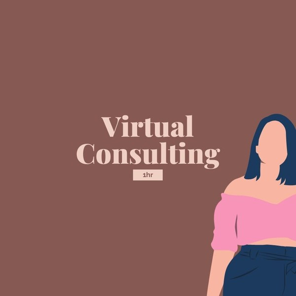Virtual Consulting - 1hr meeting