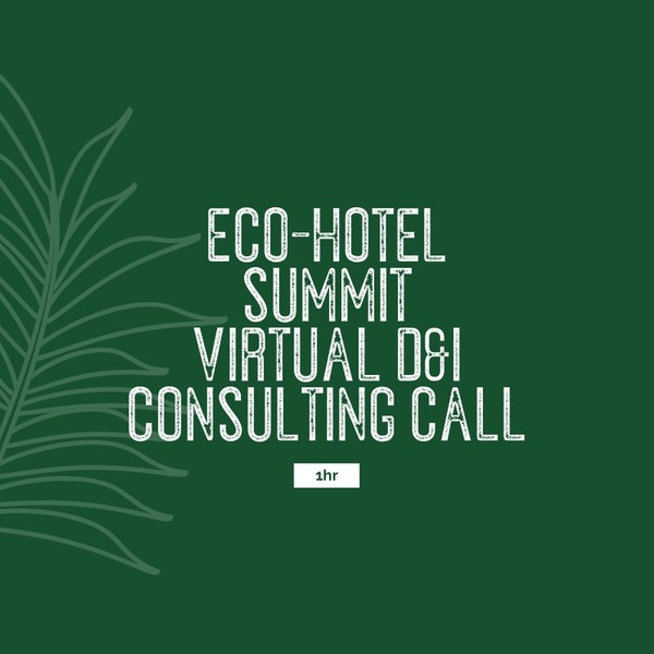 Eco-Hotel Summit D&I Virtual Consultation