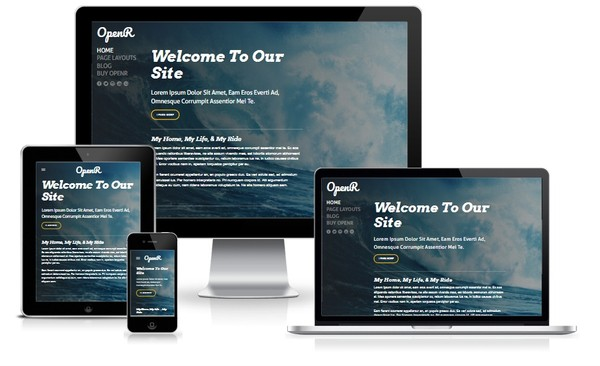 OpenR Weebly Theme