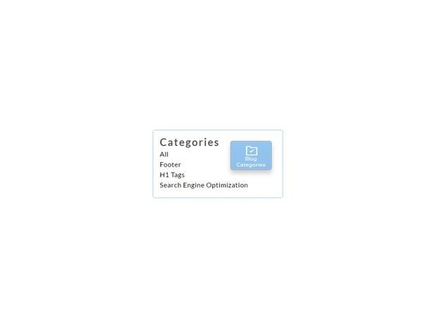 Blog Category Duplicator Weebly Widget