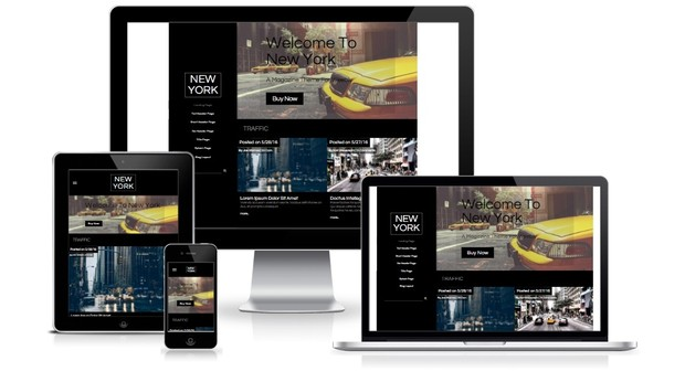 New York Weebly Theme