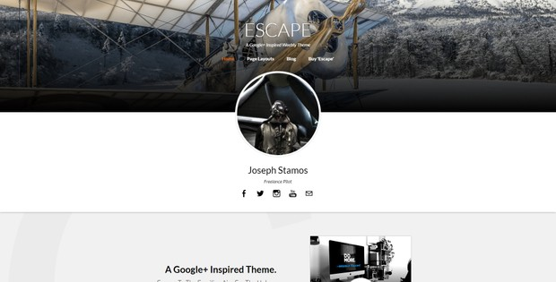 Escape (Weebly Theme)