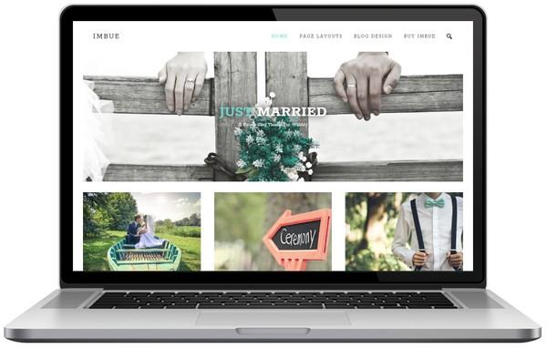 Imbue Weebly Blog Theme