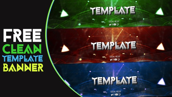 FREE CLEAN BANNER TEMPLATE by Sanczo