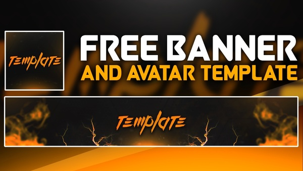 FREE SMOKE BANNER & AVATAR TEMPLATE - free download by Sanczo