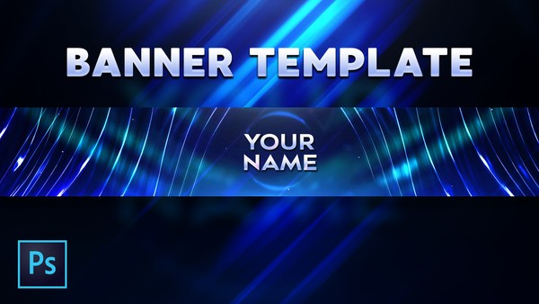 FREE YOUTUBE TEMPLATE ABSTRACT BANNER by Sanczo