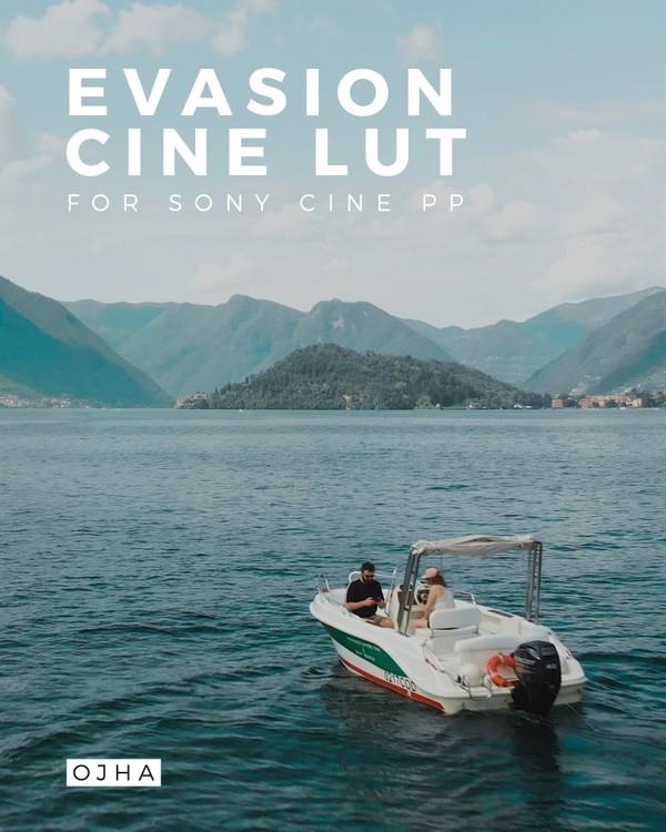 EVASION   Cine LUT by Ojha