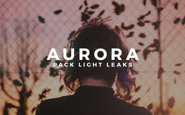AURORA   Light Leaks Pack by Ojha