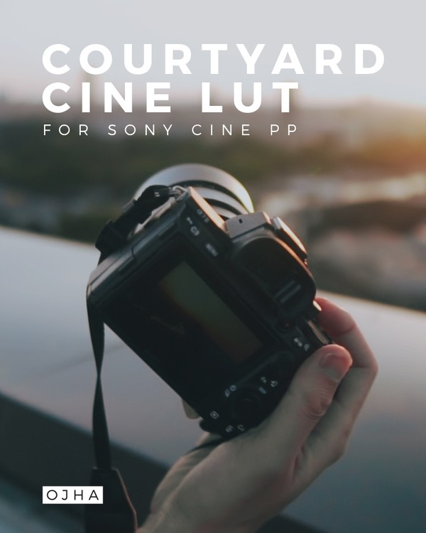 COURTYARD | Sunset Cine LUT