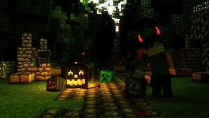 Hallowen Pack V1 - Minecraft Cinema 4D