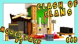 Clash Of Clans Model Pack V1