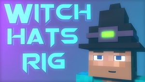Witch hats rig Cinema 4D