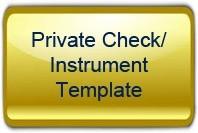 Private Check Template