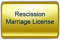 Rescission of Marriage License