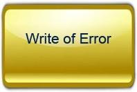 Write of Error