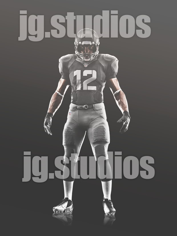 NFL Uniform Template