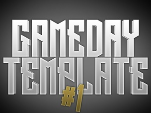 Gameday Template 1