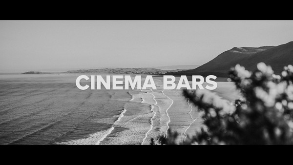 Cinema Bars for your videos