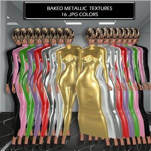 BAKED METALLIC TEXTURES