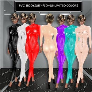 PVC BODYSUIT TEXTURE AND PSD