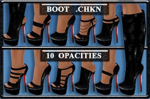 CL BOOT MESH AND OPACITIES