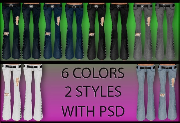 12 Flared Jeans