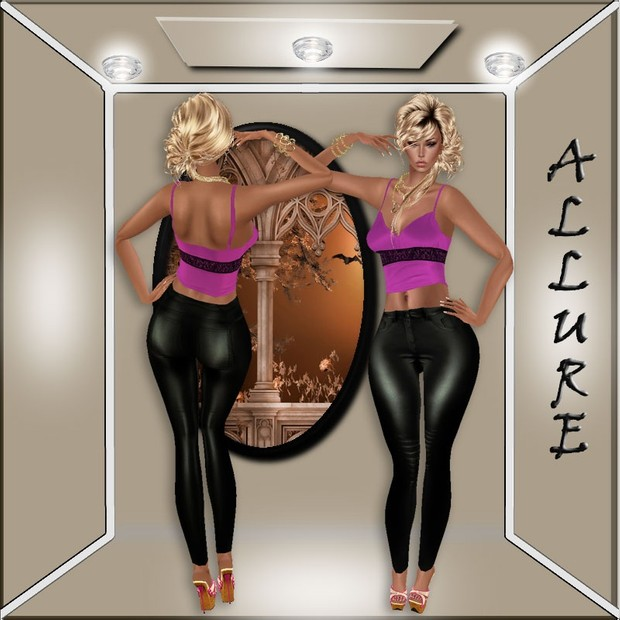 ALLURE BLACK JEANS