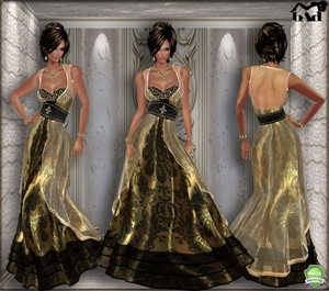 NEW YORK GOLD GOWN