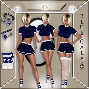 BLUE GALAXY/SAILOR