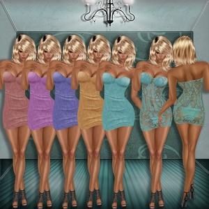 SWANE MINI DRESS