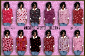VALENTINE SWEATER COLLECTION