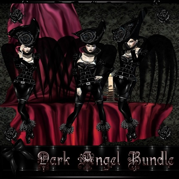 Dark Angel Bundle PSD and RESELL