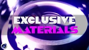 Exclusive C4D Mats(36 Materials)