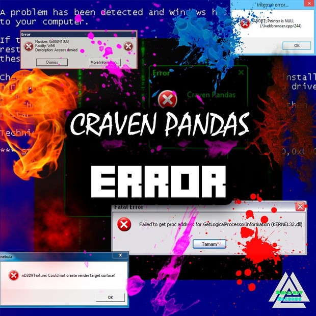 Craven Pandas - Error (Full 320kbps - FLAC 32bit)