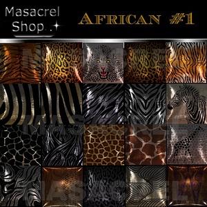 African #1 - PILLOW