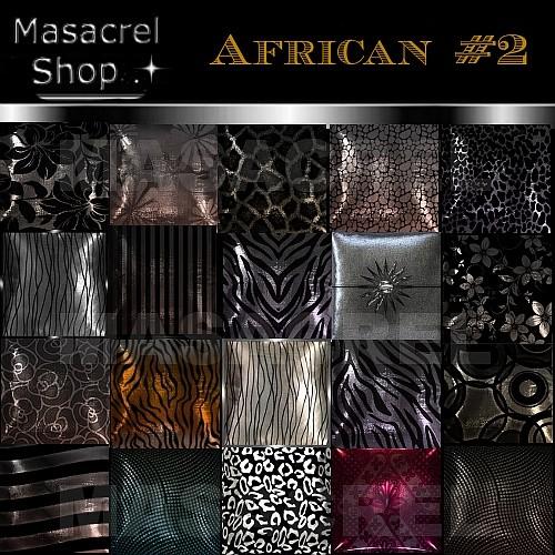 African #2 - PILLOW