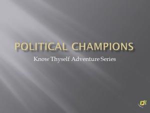 Political Champions