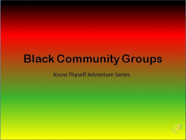 Black Community Groups