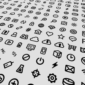 UI Vector Icon Set