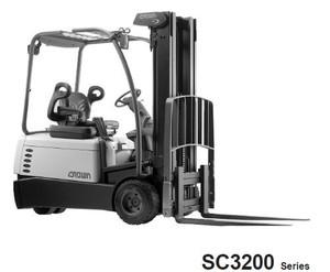 Crown SC3200 Series Forklift Service Repair Maintenance Manual