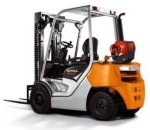 Still LPG Lift Truck Type RC40-25, RC40-30: 4019, 4020 Parts Manual
