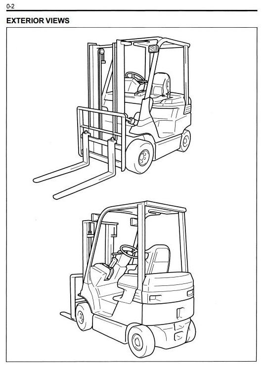 Electric Forklift Wiring Diagram. Toyota Electric Forklift Truck 7fb10 14 15 18 20 25 30 Clark Starter Wiring Diagram. Toyota. 7fbcu55 Forklift Wiring Diagram Toyota At Scoala.co