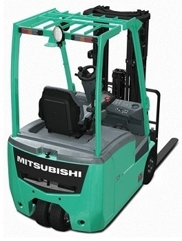Mitsubishi FB13PNT-FB20PNT Chassis Mast Forklift Trucks Workshop Service Repair Manual