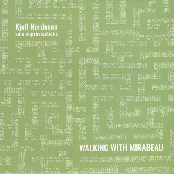 MW951 Walking with Mirabeau by Kjell Nordeson
