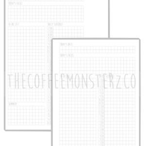 Day Designer Planner Printable (A5)