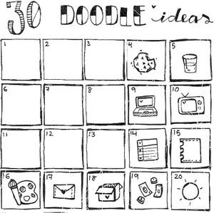 30 doodle ideas (DELUXE)